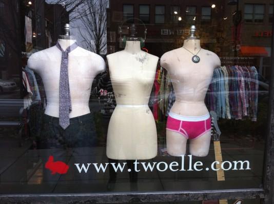 naked mannequins